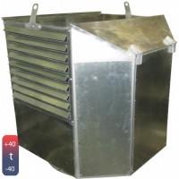 Вентилятор дымоудаления радиальный  ВКР ДУ (190-90000 м3)