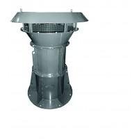 Крышные осевые вентиляторы подпора NED VPOK