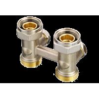 Клапан запорно-присоединительный RLV-KS систем отопления
