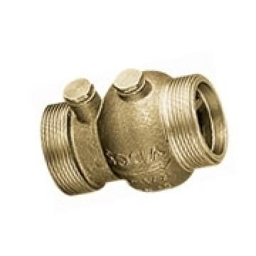 Клапан обратный тип 223 латунный пружинный с наружной резьбой и аксиальным затвором