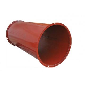 Круглые воздуховоды из черной стали
