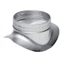Врезка круглая из оцинкованной стали