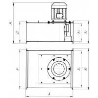 Вентилятор Shermann Series Z 40209050 канальный