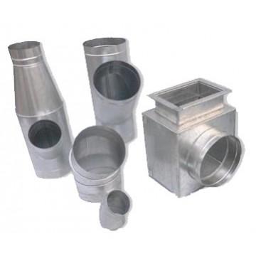 Фасонные детали из нержавеющей стали